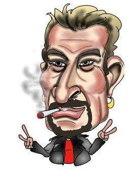 Caricatures Johnny Hallyday